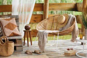 pulire le fibre naturali di tappeti