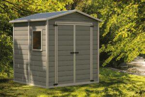 Il bagno prefabbricato da esterno per il giardino comodo e pratico