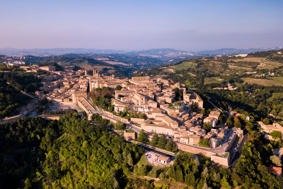 centro storico Urbino