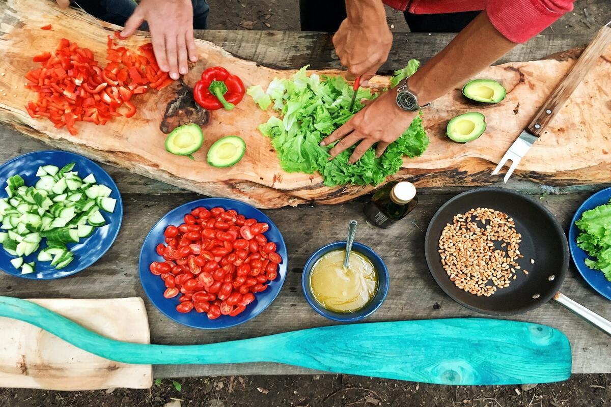 cucina in giardino- realizzare