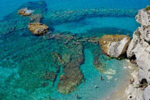 il mare di Tropea, il borgo più bello d'Italia