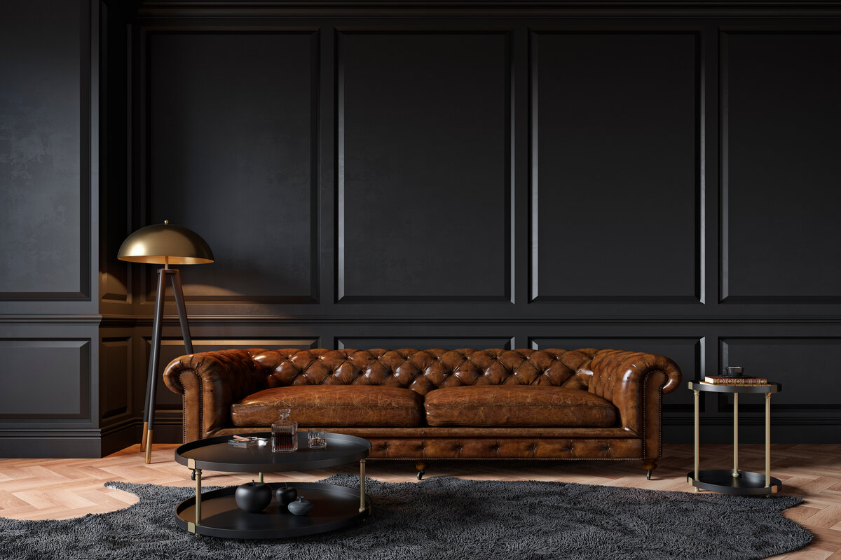 Mobili classici - divano chesterfield