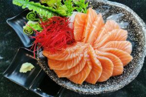 Pesce vegetale - salmone