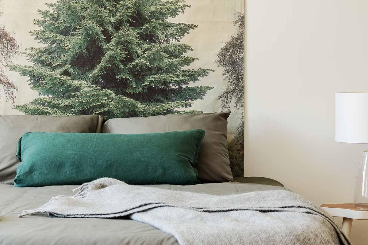 Come abbinare il verde in camera da letto