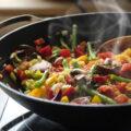 Cucinare sostenibile - wok